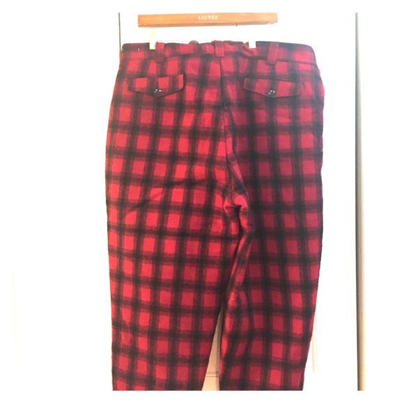 80e4def5805 Vintage wool insulated hunting pants by Woolrich. M 5be0e9aaaaa5b81d50331cdc